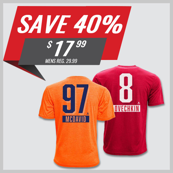 Levelwear Name & Number Tees