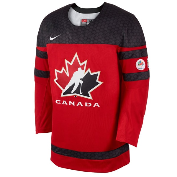 Nike Team Canada SR Red Jersey