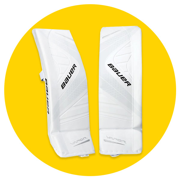 CLEARANCE GOALIE PADS