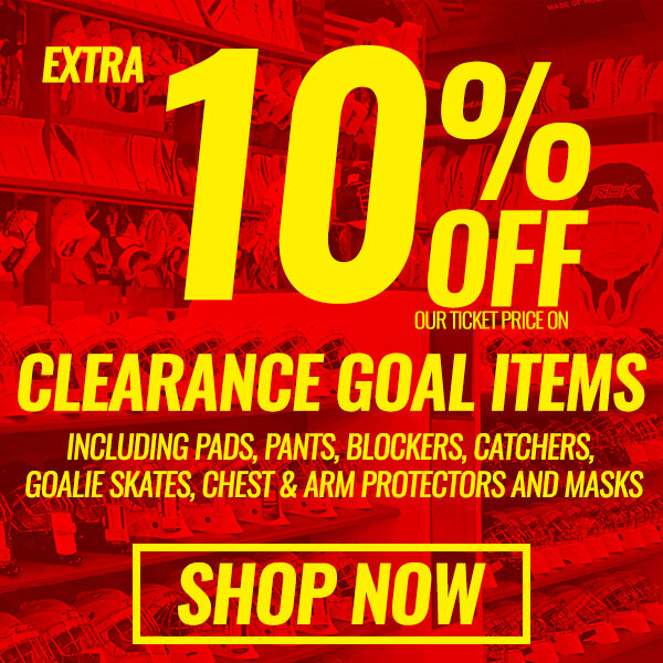 Clearance Goalie Equipment