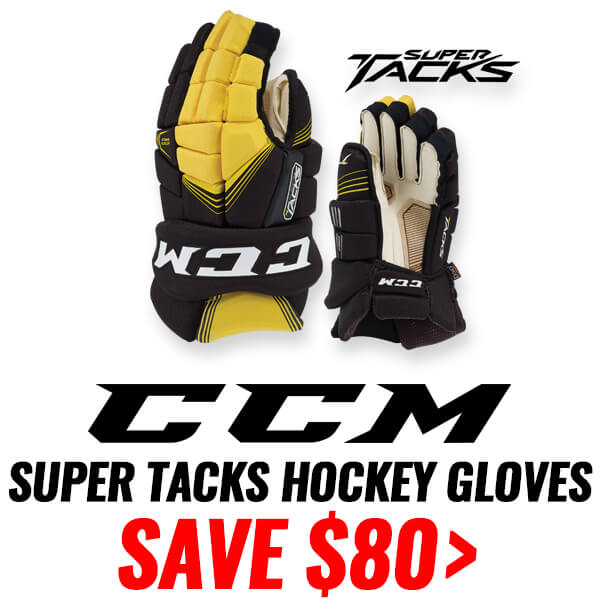 CCM SUPER TACKS HOCKEY GLOVES
