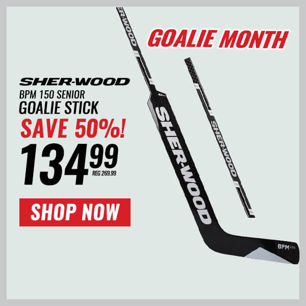 SHER-WOOD BPM 150 SR GOALIE STICK