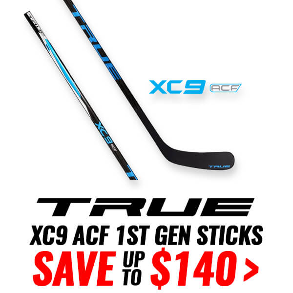 TRUE XC9 ACF 1ST GENERATION HOCKEY STICKS