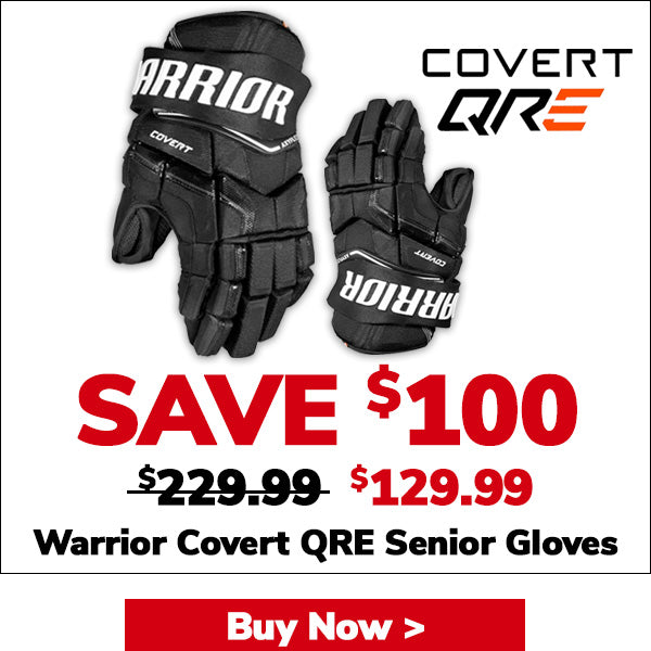 WARRIOR COVERT QRE SENIOR HOCKEY GLOVES