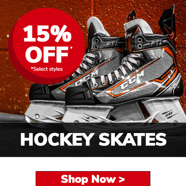 Black Friday 20% Off Hockey Skates