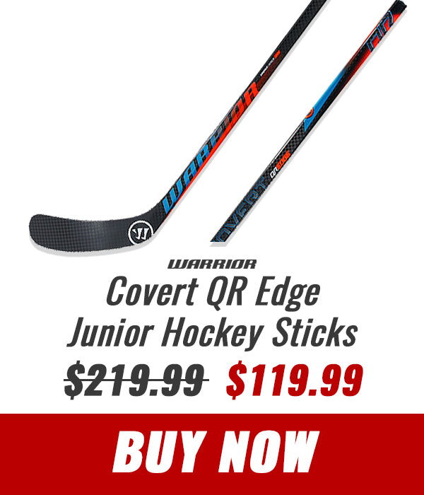 WARRIOR COVERT QR EDGE JUNIOR HOCKEY STICK