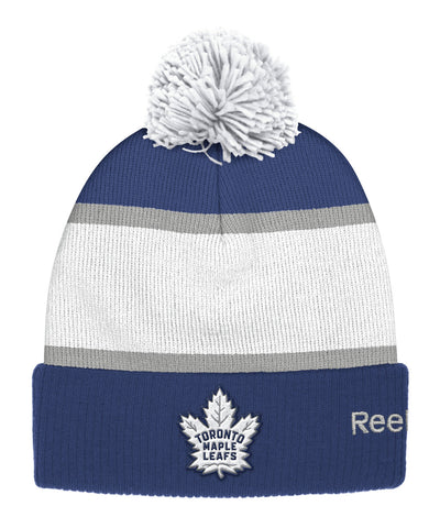 6f34b433 REEBOK TORONTO MAPLE LEAFS 2017 CC CUFFED POM KNIT SR TOQUE. Clearance