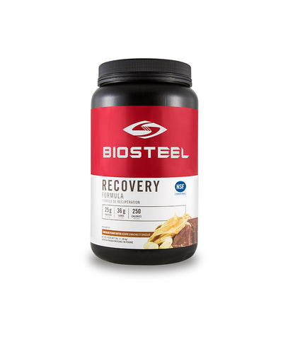 BIOSTEEL ADVANCED RECOVERY FORMULA CHOCOLATE PEANUT BUTTER