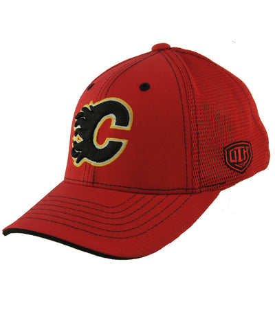 16522f71863 OLD TIME HOCKEY FRANCHISE CALGARY FLAMES JR CAP