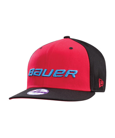 BAUER SNAPBACK NEW ERA 9FIFTY JR CAP