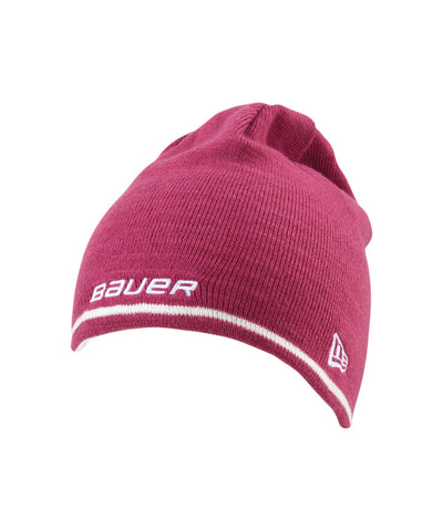 BAUER BASIC NEW ERA REVERSIBLE KNIT SR BEANIE