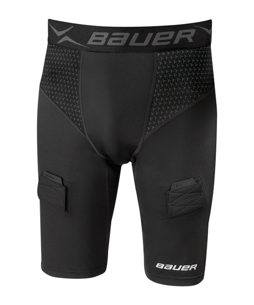 BAUER NG 2 PREMIUM COMPRESSION JR JOCK SHORTS