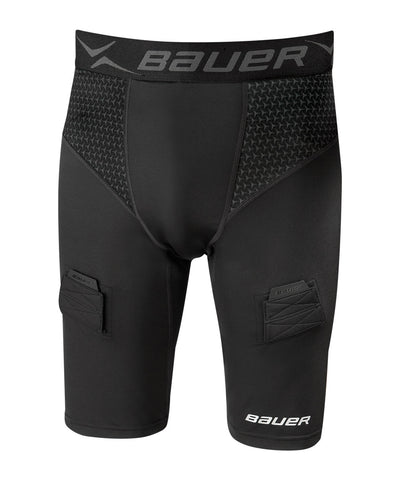 BAUER NG 2 PREMIUM COMPRESSION JUNIOR JOCK SHORTS