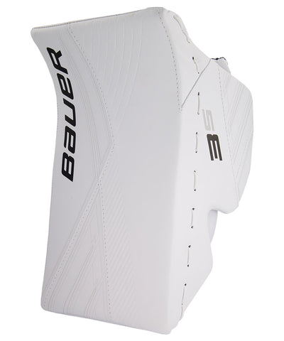 BAUER SUPREME 3S SENIOR GOALIE BLOCKER