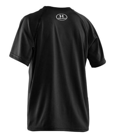 UNDER ARMOUR TECH BIG LOGO JR T-SHIRT BLACK