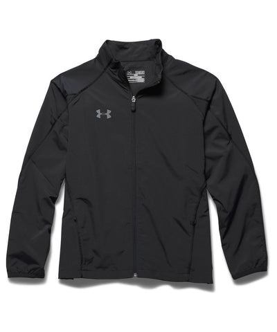 UNDER ARMOUR 2015 PUCK WARM UP BLACK JR JACKET