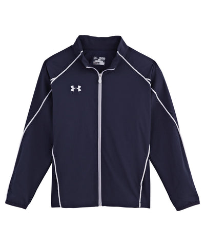 UNDER ARMOUR 2015 PUCK WARM UP NAVY JR JACKET