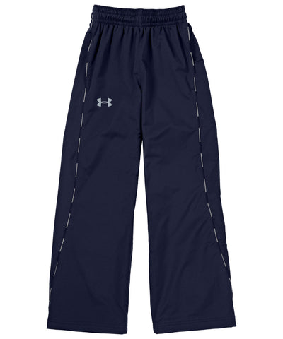 UNDER ARMOUR 2015 PUCK WARM UP NAVY JR PANT
