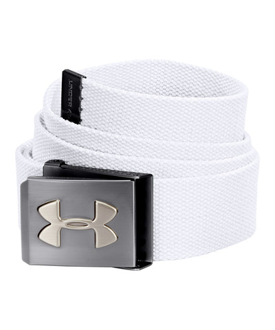 UNDER ARMOUR WEBBED SR BELT WHITE