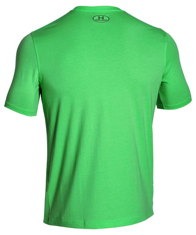 UNDER ARMOUR PTH GRAPHIC LASER GREEN SS SR T-SHIRT
