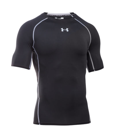 UNDER ARMOUR HEATGEAR ARMOUR MEN'S T-SHIRT BLACK