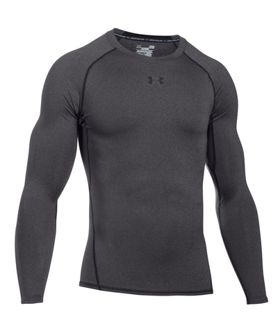 UNDER ARMOUR HEATGEAR ARMOUR MEN'S LONG SLEEVE SHIRT GREY