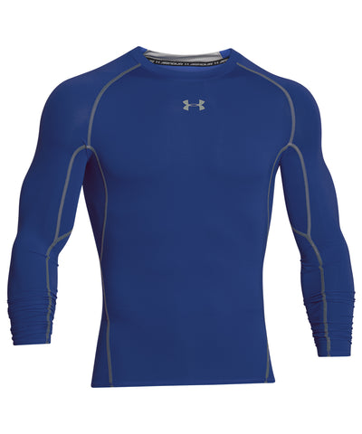 UNDER ARMOUR SR HEAT GEAR ARMOUR LS COMPRESSION SHIRT ROYAL