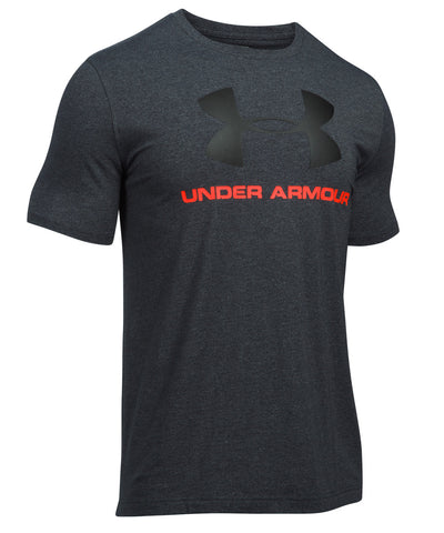 UNDER ARMOUR SPORTSTYLE LOGO MEN'S T-SHIRT BLACK