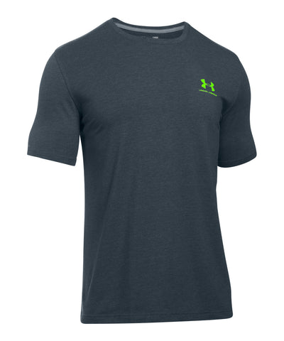 UNDER ARMOUR CHARGED COTTON SPORTSTYLE SR T-SHIRT STEEL GREY