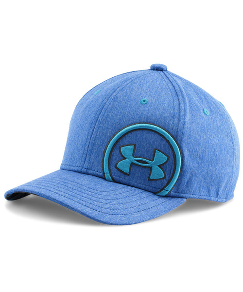 UNDER ARMOUR BIG LOGO BILLBOARD BLUE JR CAP