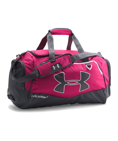 UNDER ARMOUR UNDENIABLE II MEDIUM DUFFEL BAG PINK
