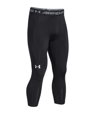 UNDER ARMOUR HEATGEAR ARMOUR 3/4 SR LEGGINGS BLACK