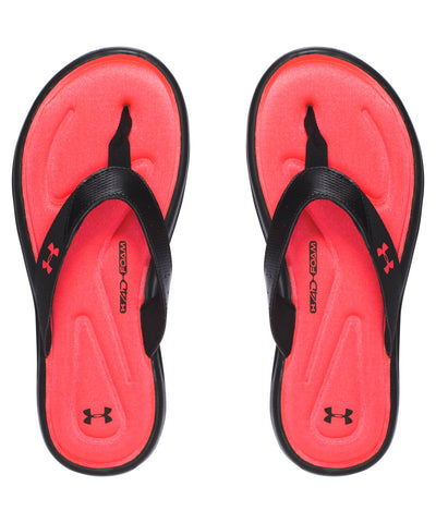 UNDER ARMOUR MARBELLA V GIRLS SLIDE SANDALS PINK