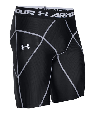 UNDER ARMOUR HEATGEAR CORE SR SHORTS BLACK