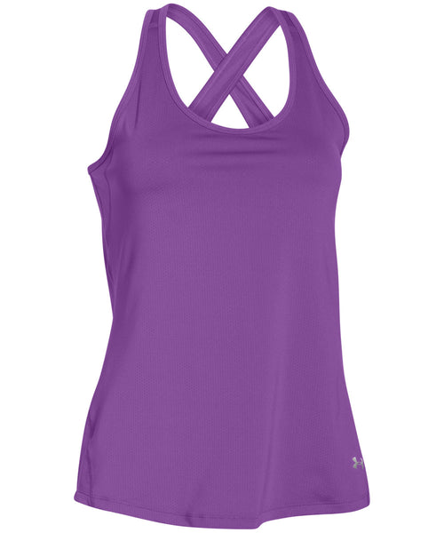 UNDER ARMOUR COOLSWITCH MAGENTA WOMEN'S TANK