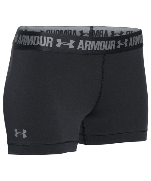 UNDER ARMOUR HEATGEAR ALPHA BLACK WOMEN'S SHORTS