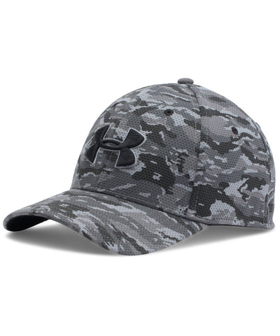 UNDER ARMOUR PRINTED BLITZING STRETCH FIT SR CAP