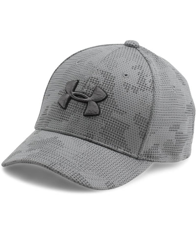 UNDER ARMOUR JR BOY'S  PRINTED BLITZING GREY
