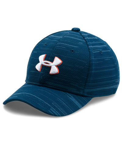 los angeles 4e6fb 85a29 UNDER ARMOUR PRINTED BLITZING KIDS HAT NAVY