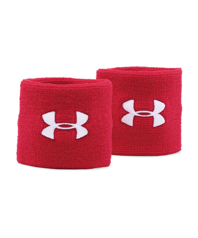 UNDER ARMOUR PERFORMANCE WRISTBANDS RED