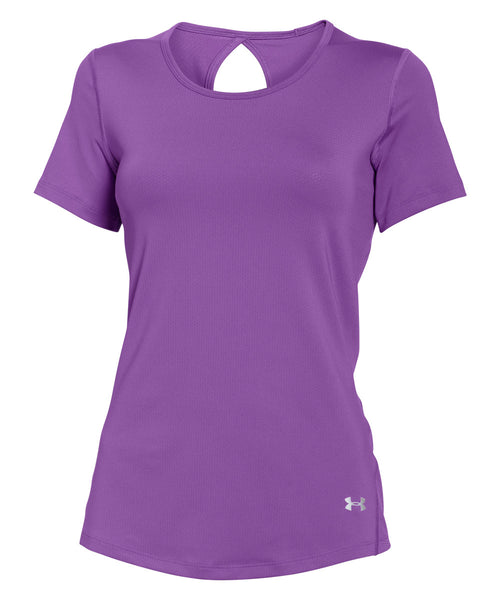 UNDER ARMOUR COOLSWITCH MAGENTA WOMEN'S SS T-SHIRT