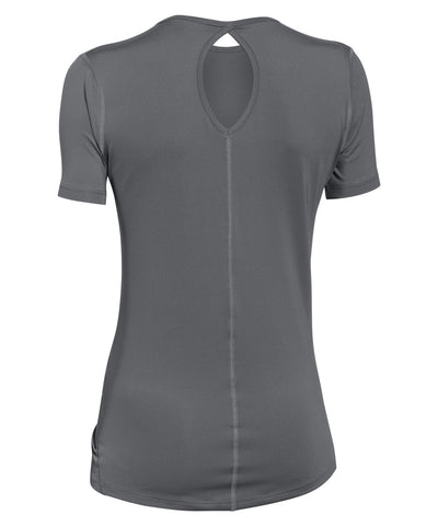 UNDER ARMOUR COOLSWITCH GRAPHITE WOMEN'S SS T-SHIRT