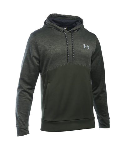 UNDER ARMOUR STORM ARMOUR FLEECE ICON TWIST SR HOODY GREEN