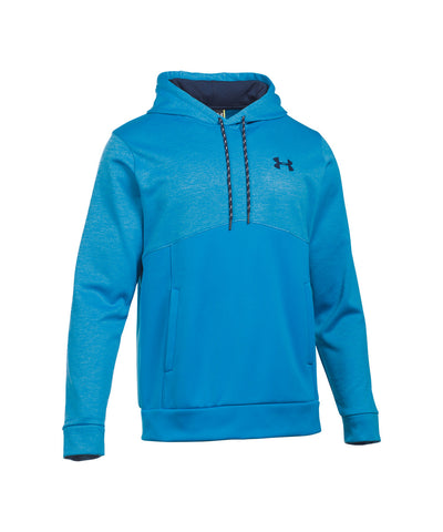 UNDER ARMOUR STORM ARMOUR FLEECE ICON TWIST SR HOODY BLUE