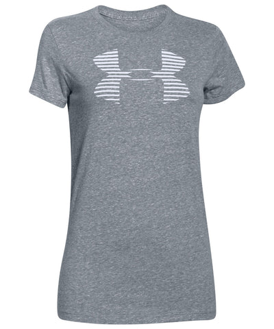 UNDER ARMOUR FAVORITE BIG LOGO WOMEN'S T-SHIRT