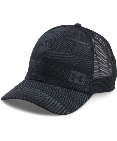 UNDER ARMOUR SR MEN'S  BLITZ TRUCKER CAP BLACK