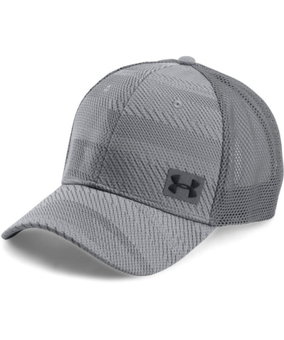 UNDER ARMOUR SR MEN'S  BLITZ TRUCKER CAP GREY