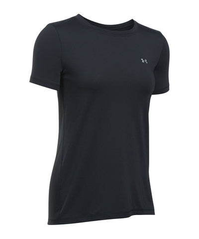 UNDER ARMOUR HEATGEAR ARMOUR WOMEN'S T-SHIRT BLACK