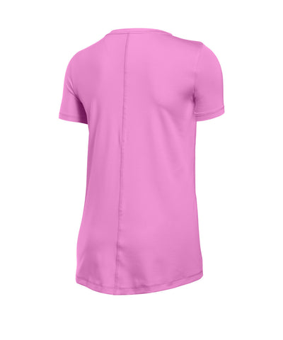 UNDER ARMOUR HEATGEAR ARMOUR SS CREW WOMEN'S T-SHIRT VIOLET