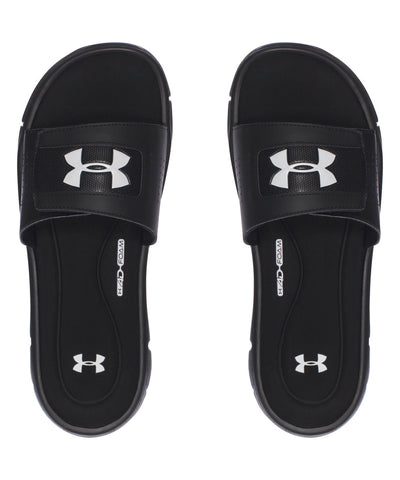 UNDER ARMOUR IGNITE V MEN'S SLIDE SANDALS BLACK